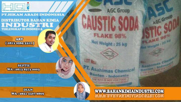 CAUSTIC SODA FLAKES 98%