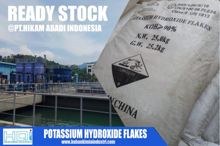 Ready Stock Potassium Hydroxide Flakes