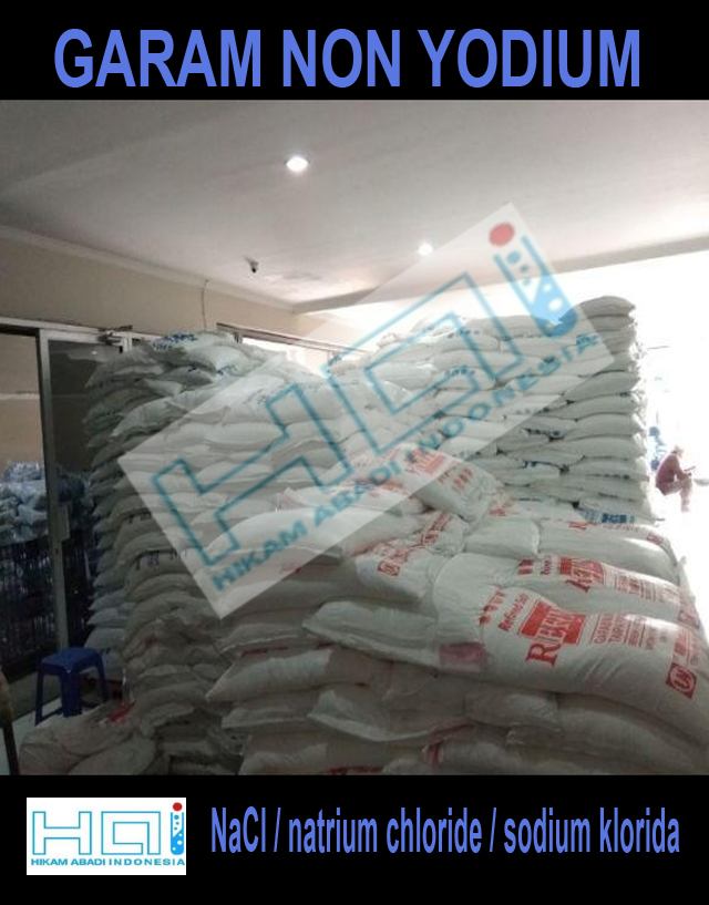 Jual Garam Non Yodium / NaCl / natrium chloride / sodium klorida
