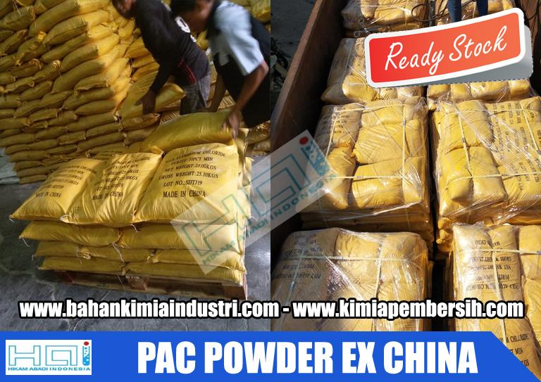 Jual Poly Alumunium Chloride (PAC)