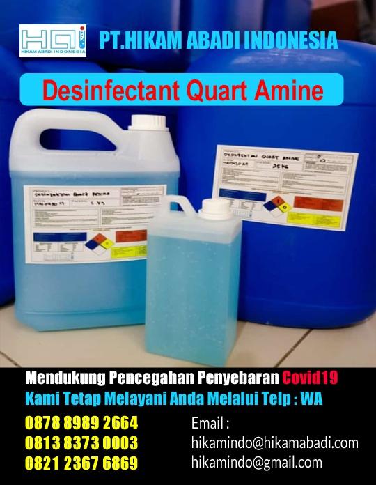 Harga Desinfectan Quart Amine 2021