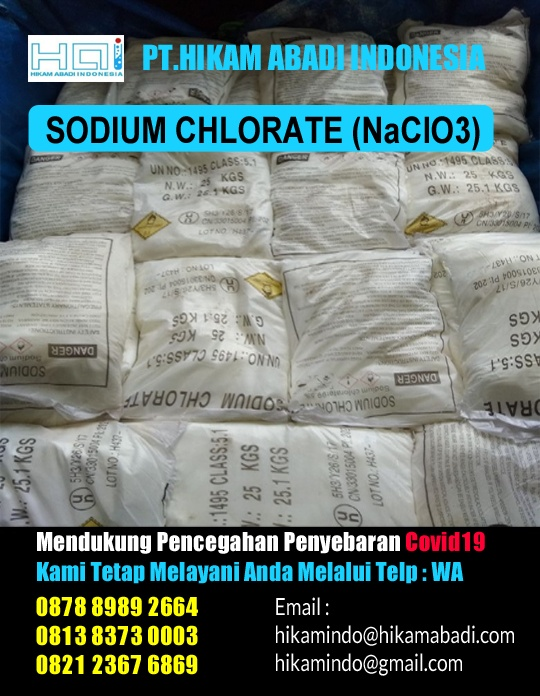 Manfaat Sodium Chlorate (NaClO3)
