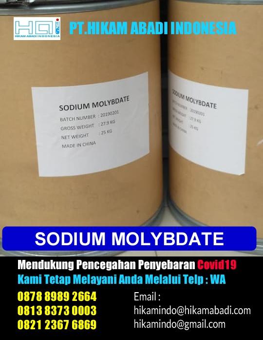 Ready Sodium Molybdate Bekasi dan Sekitar