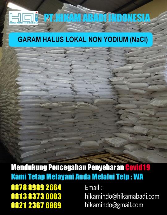 Jual Garam Halus Non Yodium Area Bekasi Tangerang Semarang Surabaya Makassar