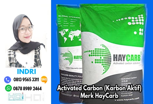 Jual Karbon Aktif Merk HayCarb Ready Stock