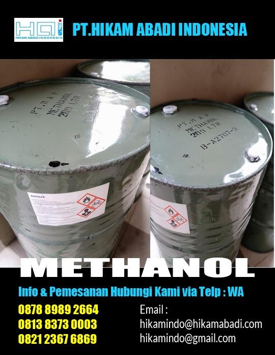 Jual Methanol Jakarta Bekasi Surabaya Medan Makassar Balikpapan