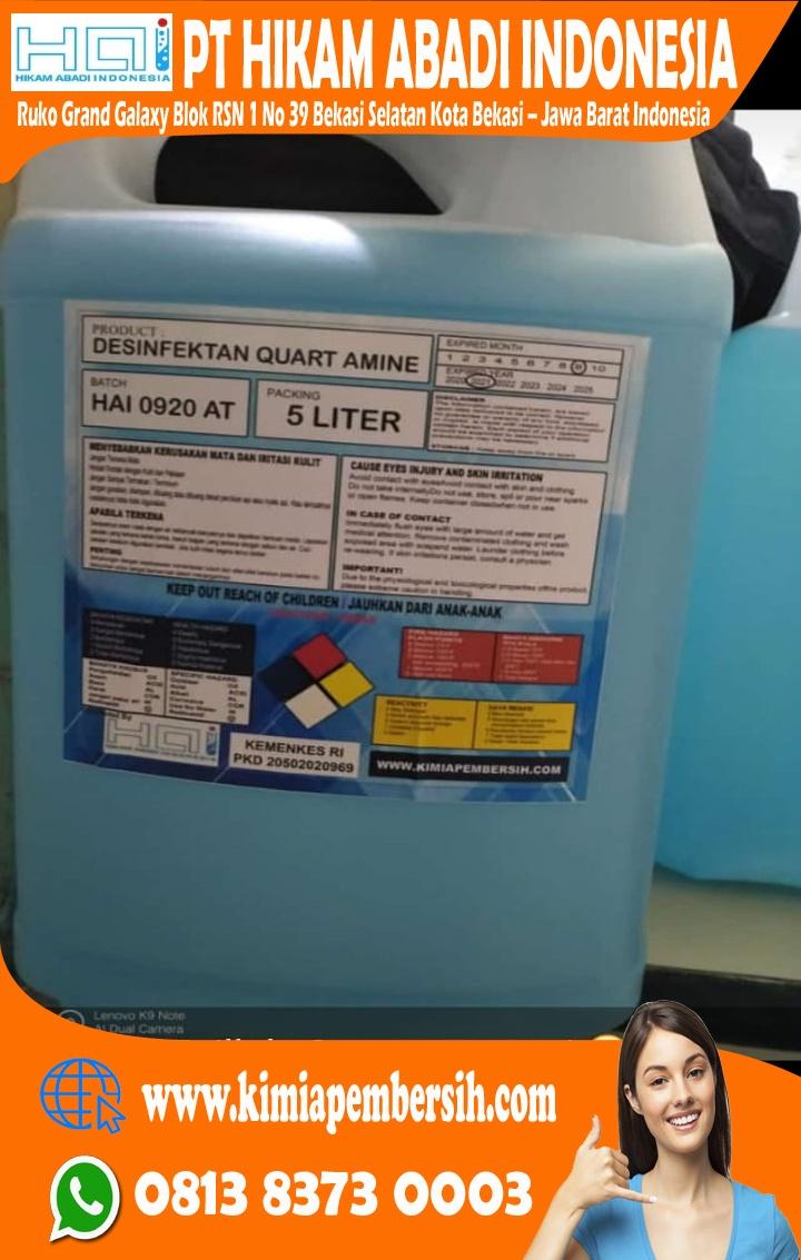 Manfaat Desinfectan dalam Pencegahan COVID19