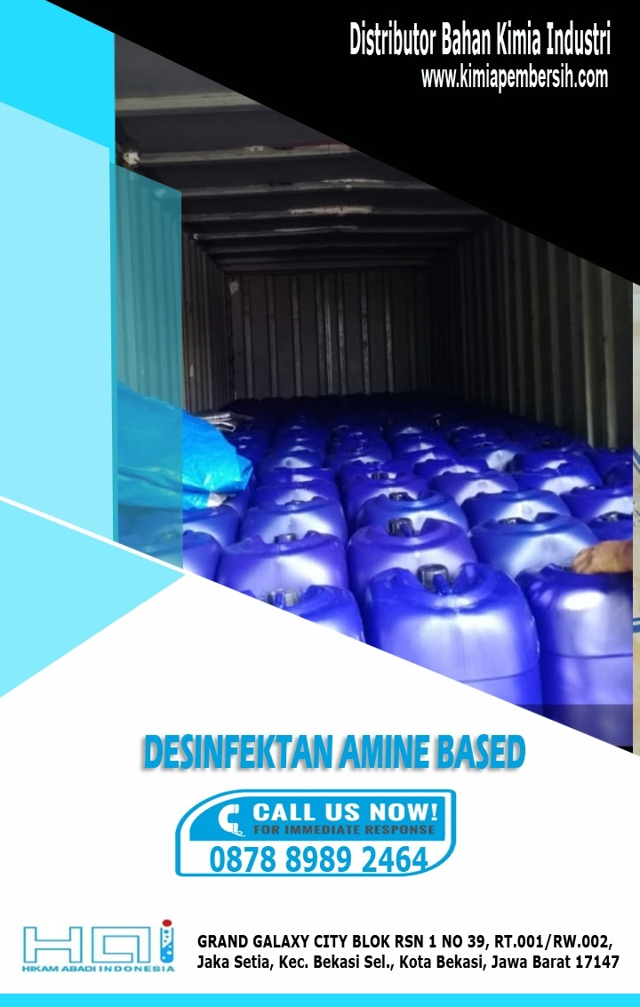 Suplier Desinfectan Amine Based