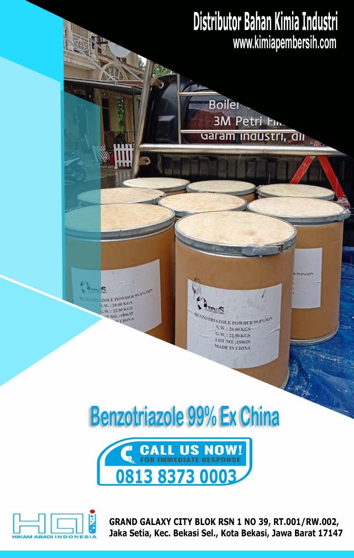 Benzotriazole 99% Ex China Murah Kirim Cepat Ready Stock