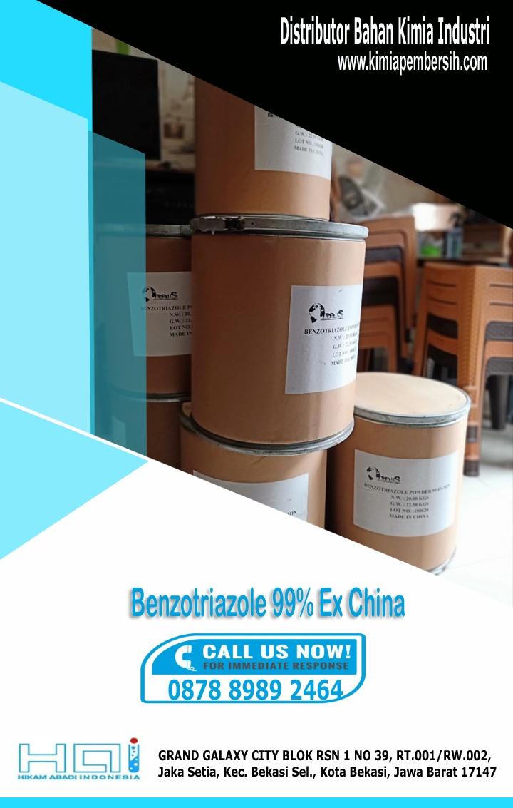 Benzotriazole 99% ex china Cilegon | Surabaya | Bogor
