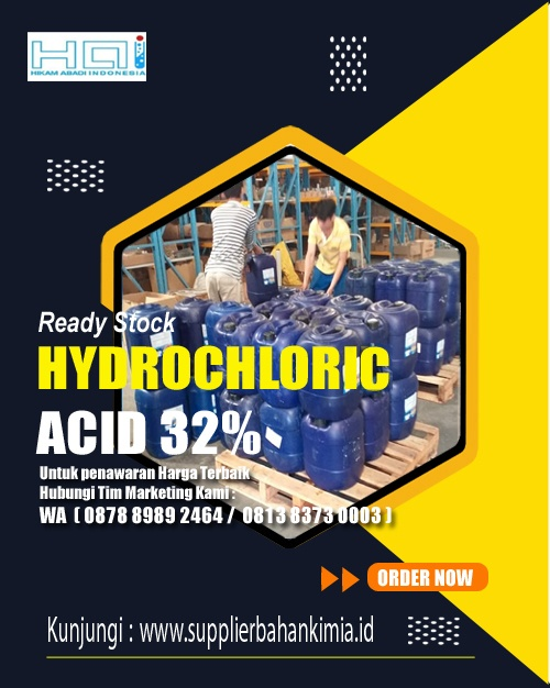 Distributor Hydrochloric Acid 32%